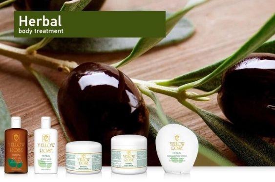 tratamiento corporal herbal yellow rose zarautz